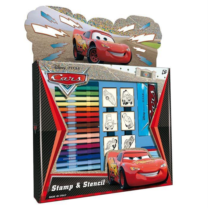 set de coloriage 18 accessoires cars achat vente kit de dessin set de coloriage 18 acc