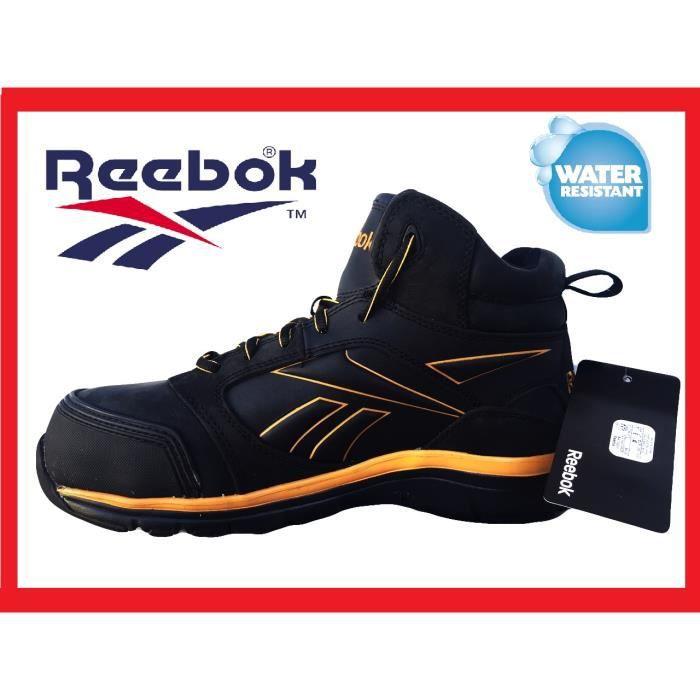 reebok senexis s3 chaussures de s curit homme s3 noir noir achat vente chaussures de. Black Bedroom Furniture Sets. Home Design Ideas