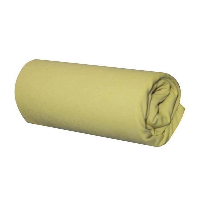 Drap housse en coton bio vert mousse 60x120 cm achat for Drap housse coton bio