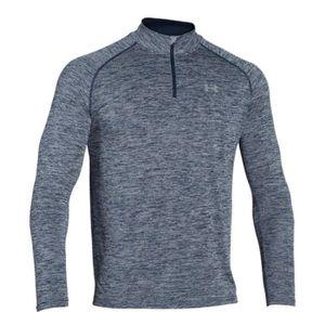 T-SHIRT Under Armour T-shirt Tech 1/4 Zip Bleu T-shirts Ma
