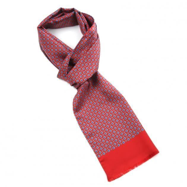 echarpe soie homme rouge achat vente echarpe foulard. Black Bedroom Furniture Sets. Home Design Ideas