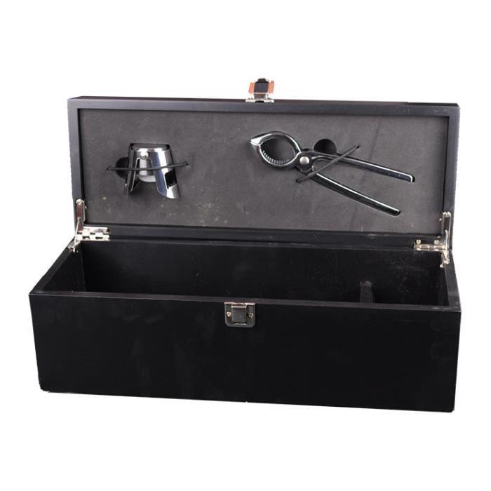 coffret champagne 2 accessoires 1x75cl achat vente coffret cadeau vin coffret champagne. Black Bedroom Furniture Sets. Home Design Ideas