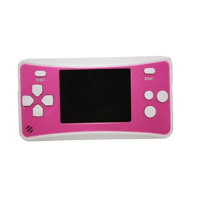Console portable 204 jeux integr s rose achat vente for Console de jeux
