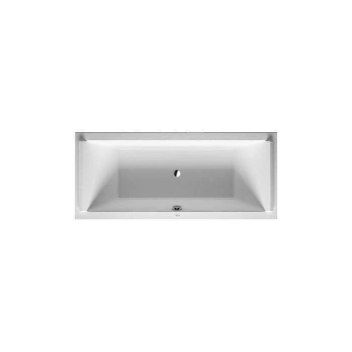 baignoire starck 180x80 blanc encastrer avec pieds. Black Bedroom Furniture Sets. Home Design Ideas