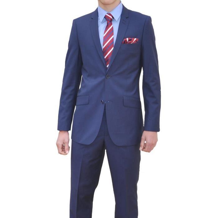 costume homme bleu p trole vest bleu achat vente costume tailleur cdiscount
