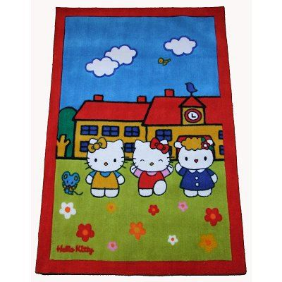 Tapis Hello Kitty A L 39 Cole Achat Vente Tapis Cdiscount