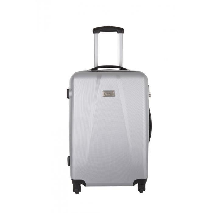 torrente valise oldina argent taille m achat vente valise bagage 3607070607824. Black Bedroom Furniture Sets. Home Design Ideas