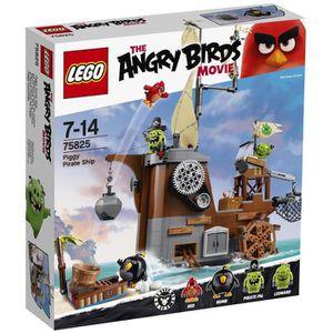 ASSEMBLAGE CONSTRUCTION LEGO® Angry Birds™ 75825 Le Bateau Pirate du Cocho