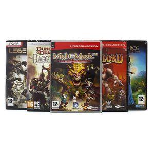 JEU PC Pack 5 jeux 100% Elfes, Dungeons et Dragons - PC