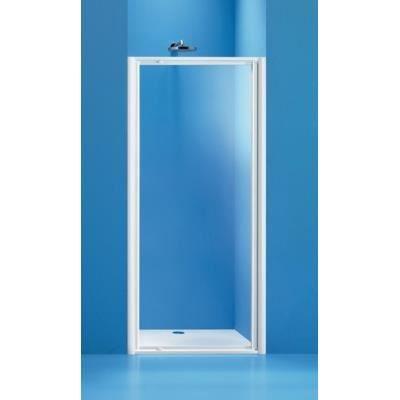 Porte pivotante ancoswing 90cm blanc verre tran achat vente cabine de do - Porte de douche occasion ...