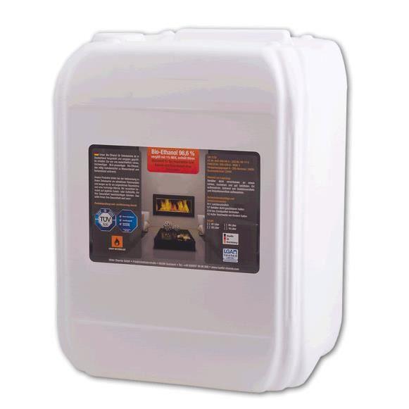 Bio thanol 9 x 10l achat vente ethanol bio thanol 9 x - Buche compressee avis ...