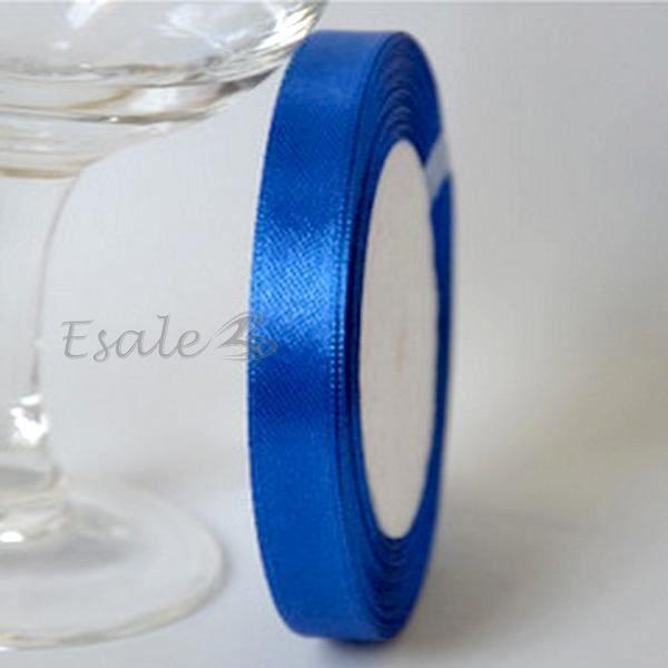 Rouleau 1cm Ruban Galon Bolduc Bleu Foncé Déco DIY Mariage Fête ...