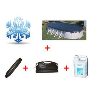 Pack hiver piscine hors sol ovale 10 x achat for Piscine hors sol 10m x 5m