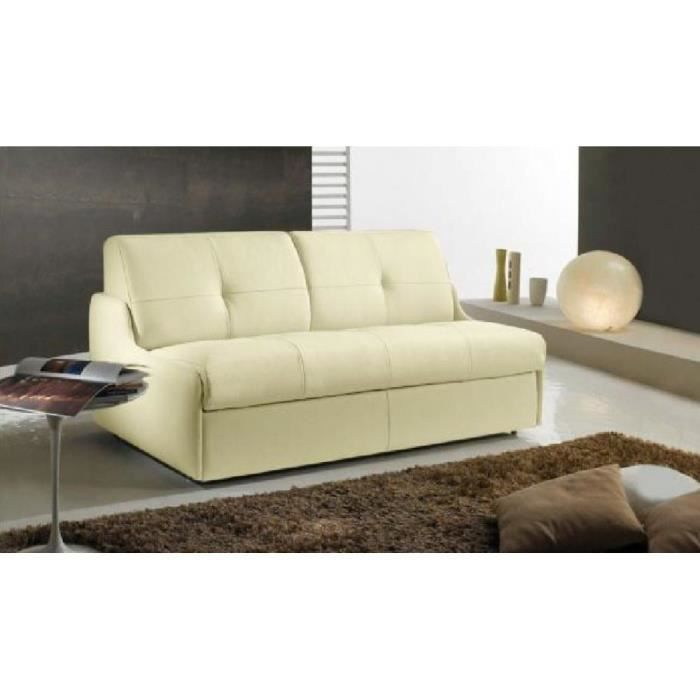 Canap lit compact linea convertible syst me rapido couchage 140 195 12cm cui - Canape compact convertible ...