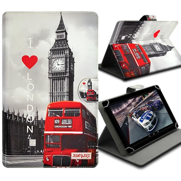 Housse etui folio pour tablette acer iconia one 7 achat for Housse tab s2 8