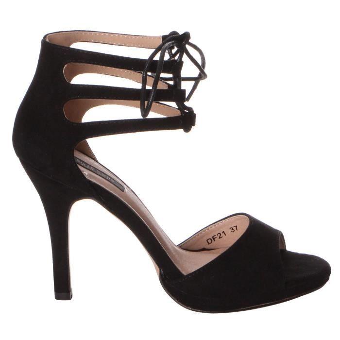 escarpins talons epais chaussure2. Black Bedroom Furniture Sets. Home Design Ideas