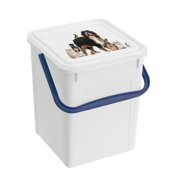 boite a croquette pour animaux 7l achat vente boite pour alimentation boite a croquette pour. Black Bedroom Furniture Sets. Home Design Ideas