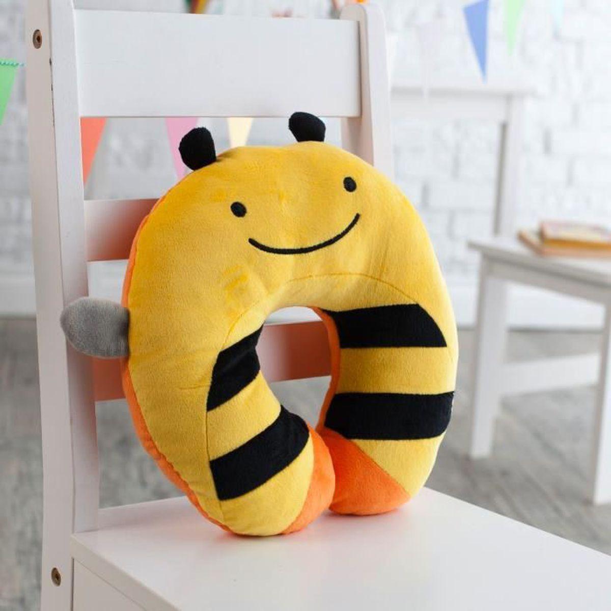 coussin de voyage tour de cou cale t te abeille achat vente cale t te si ge 2009823082826. Black Bedroom Furniture Sets. Home Design Ideas