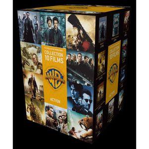DVD FILM DVD Coffret 90 ans Warner : 10 films d'action