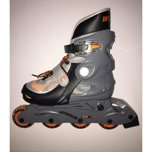 ROLLER IN LINE PAIRE DE ROLLERS -  TAILLE L - ORANGE