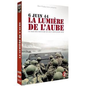 DVD DOCUMENTAIRE LA LUMIERE DE L'AUBE / COULISSE DU DEBARQUEMENT