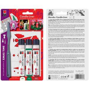 Peinture pour bougies candle liner kit xmas tim achat - Peinture pour electromenager ...