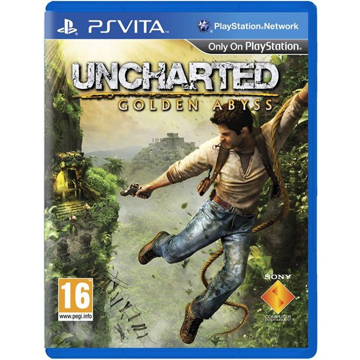 JEU PS VITA Uncharted Golden Abyss Jeu PS Vita