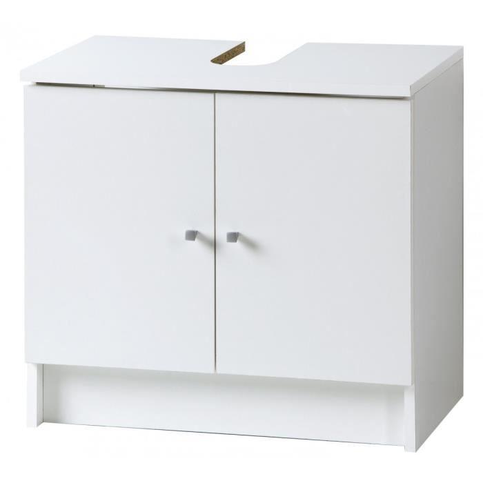 sweet blanc meuble bas 2p achat vente meuble vasque. Black Bedroom Furniture Sets. Home Design Ideas