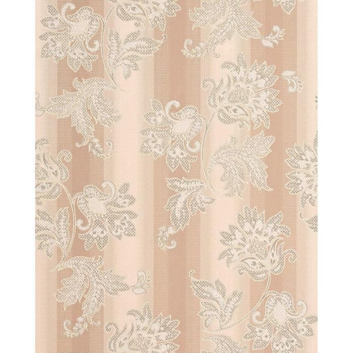 Papier Peint En Vinyle Design Motif Floral Edem 084 23