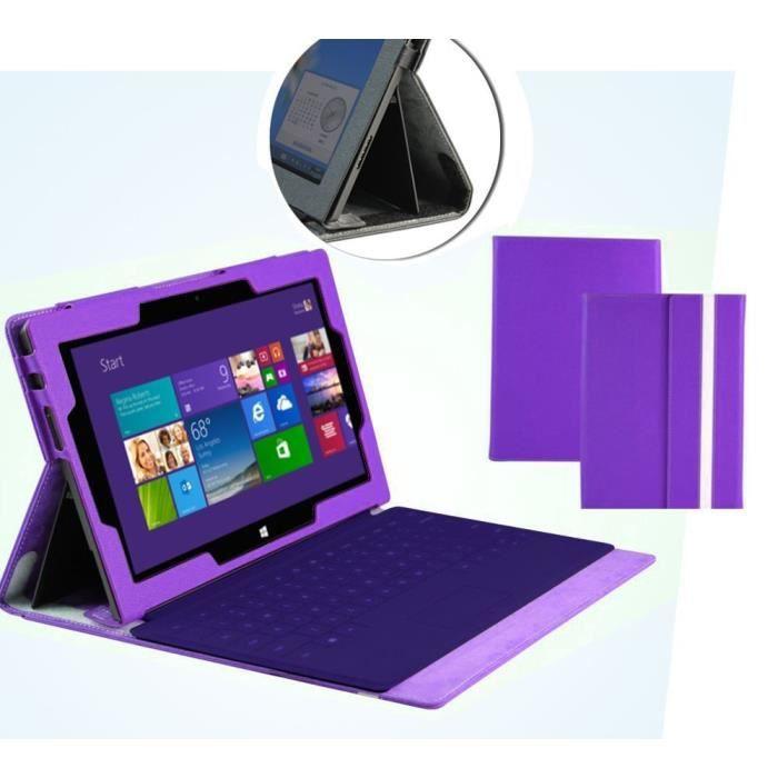 navitech housse pour microsoft surface pro 2 ii violet prix pas cher cdiscount. Black Bedroom Furniture Sets. Home Design Ideas