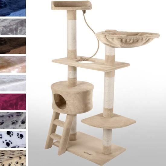arbre chat de taille moyenne kbm010 2 bordeaux achat vente arbre chat arbre chat de. Black Bedroom Furniture Sets. Home Design Ideas