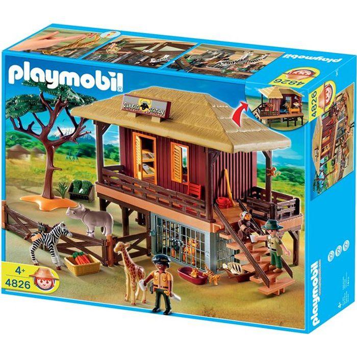 Playmobil 4826 centre de soins animaux sauvages achat for Maison de la literie cholet