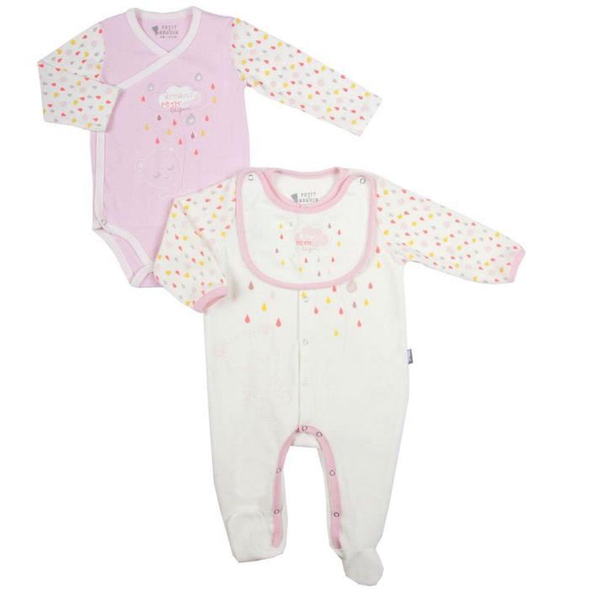 kit de naissance bebe achat vente kit de naissance bebe pas cher cdiscount. Black Bedroom Furniture Sets. Home Design Ideas