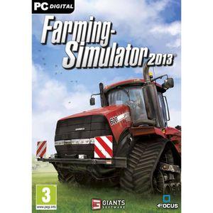 JEU PC FARMING SIMULATOR 2013 / Jeu PC