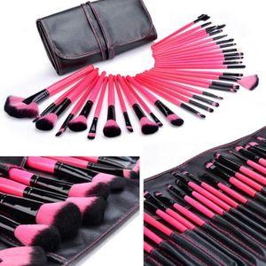 PINCEAUX DE MAQUILLAGE 32 PCS pinceaux de maquillage cosmétiques professi