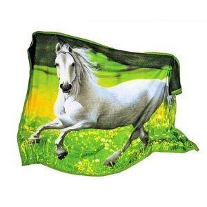plaid chevaux achat vente plaid chevaux pas cher soldes cdiscount. Black Bedroom Furniture Sets. Home Design Ideas