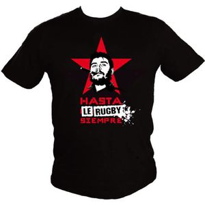 T-SHIRT T-shirt Hasta le Rugby Siempre-V4