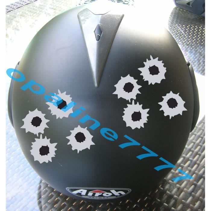 sticker impact balles reflechissant moto casque achat vente stickers cdiscount. Black Bedroom Furniture Sets. Home Design Ideas