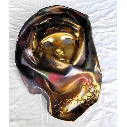 Masque venitien en cuir et ceramique achat vente objet - Masque venitien decoration ...
