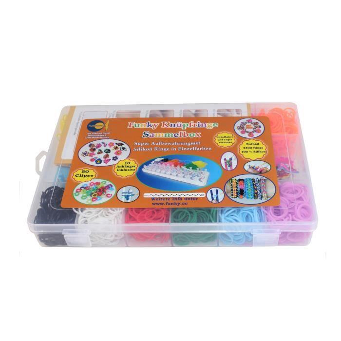 sac lastique multicouleur bracelet lastique bracelet rainbow loom creastic bracelet pour. Black Bedroom Furniture Sets. Home Design Ideas