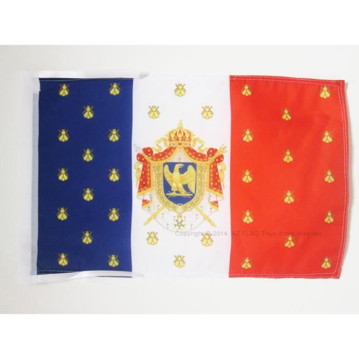 drapeau etendard de napol on iii 45x30cm second empire france haute qualit achat vente. Black Bedroom Furniture Sets. Home Design Ideas