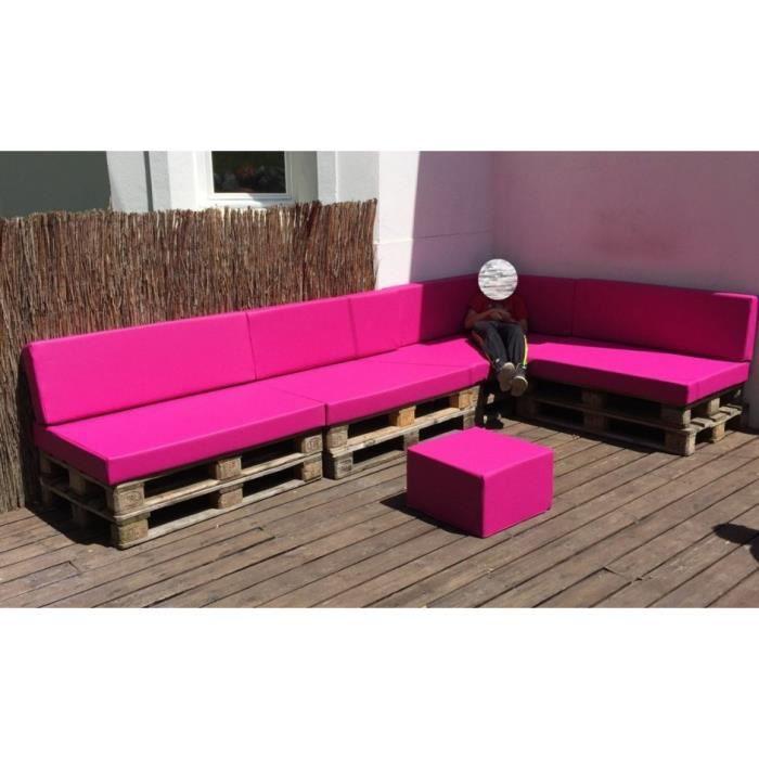 coussins pour canap palette 80 rouge achat vente. Black Bedroom Furniture Sets. Home Design Ideas