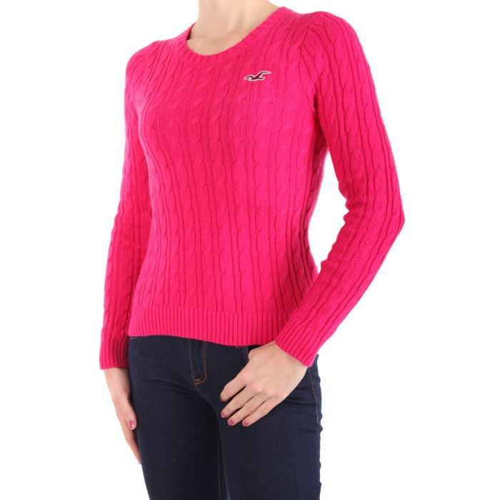 Pull Hollister By Abercrombie Ro... Rose