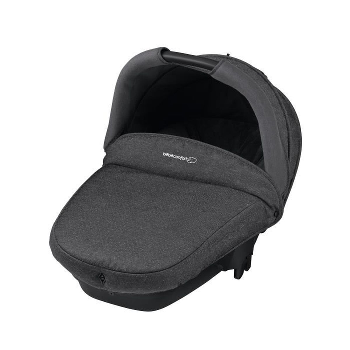bebe confort nacelle compacte sparkling grey achat vente nacelle bb confort nacelle. Black Bedroom Furniture Sets. Home Design Ideas