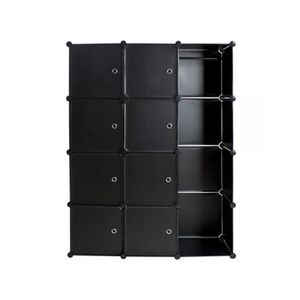 kit rangement armoire achat vente kit rangement armoire pas cher cdiscount. Black Bedroom Furniture Sets. Home Design Ideas