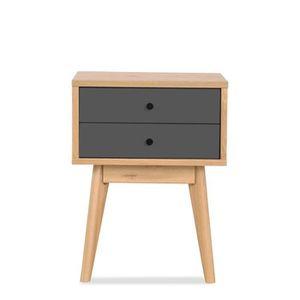 petit meuble laque gris achat vente petit meuble laque gris pas cher cdiscount. Black Bedroom Furniture Sets. Home Design Ideas