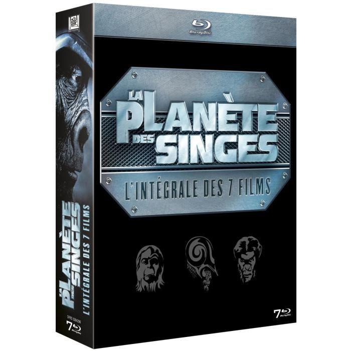 La Planète des singes : L'intégrale 7 films [Coffret 7 Blu-Ray]