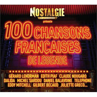 les 100 plus belles chansons francaises achat cd cd compilation pas cher. Black Bedroom Furniture Sets. Home Design Ideas
