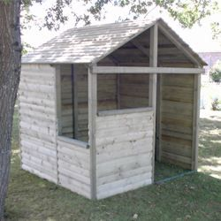 Cabane montagnarde achat vente abri jardin chalet for Cabane de jardin soldes