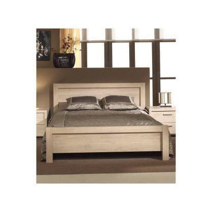 Lit adulte hissa couchage 140 x 200 cm achat vente for Voir chambre a coucher adulte
